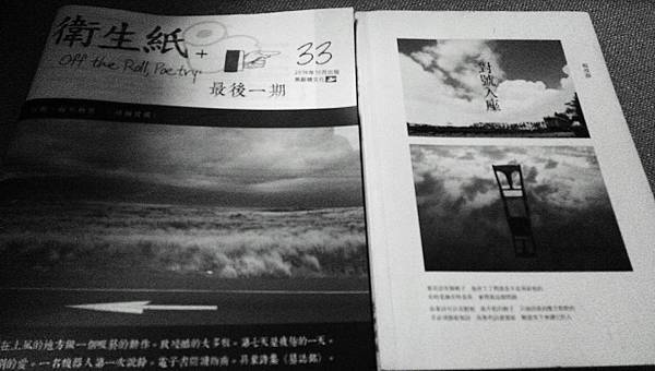 沈眠閱讀楊瀅靜《對號入座》在《衛生紙+33最後一期》.jpg