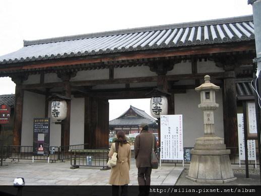 東寺的東門