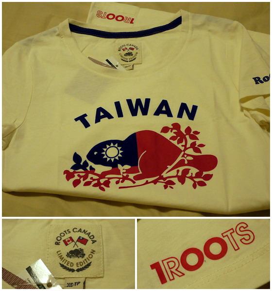 Roots Taiwan 100 T恤