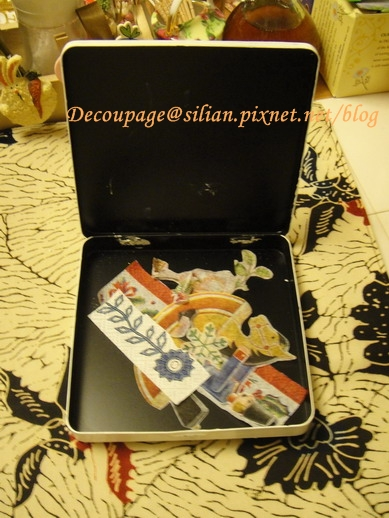 20111128 餐巾紙圖案收納盒