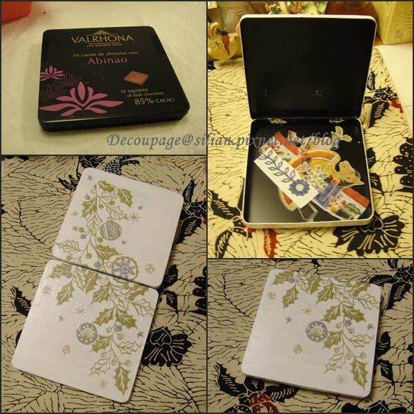 20111128 蝶古巴特 巧克力盒改造