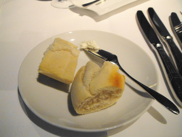 先上麵包~~這個麵包外脆內超軟,Butter Cream 也好綿密喔~