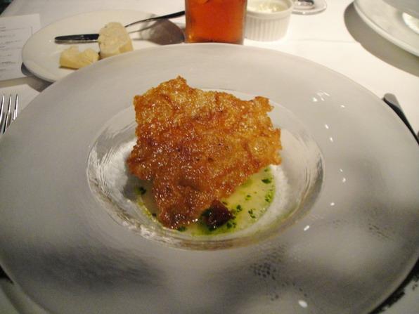 Fish - 真鯛のポワレ のスープ仕立て シブレット風味