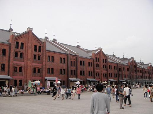 橫濱的紅磚倉庫