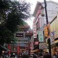 中華街我又來了~ 這個是橫濱大飯店的街口