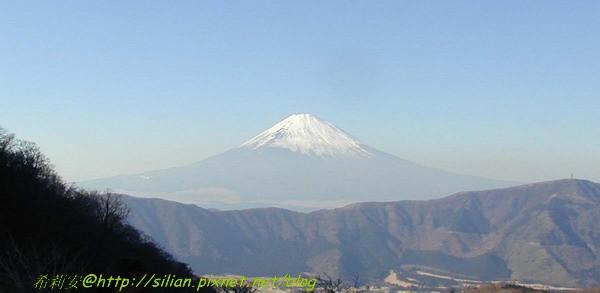 在箱根拍的富士山