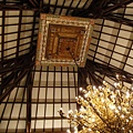 巴里島式的飯店大廳天頂