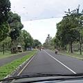 NUSA DUA 飯店區的道路