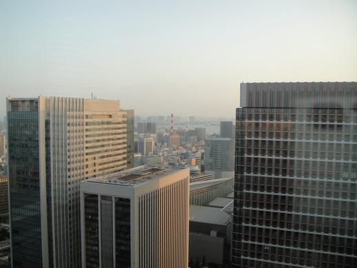 在丸之內大樓39F看東京view
