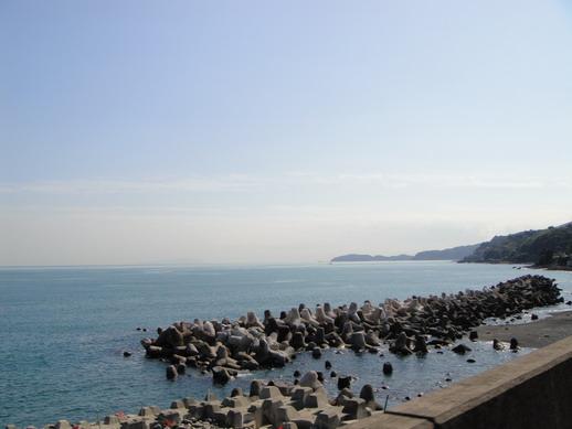 看到海了喔~ 途經熱海Atami