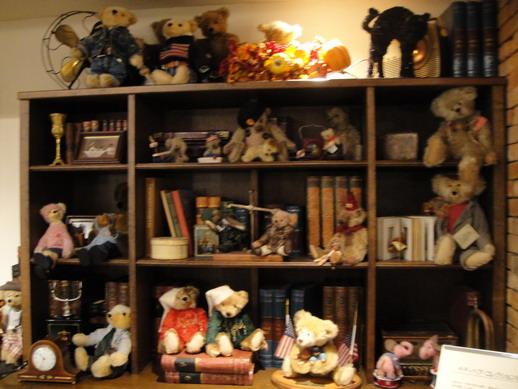 泰迪熊書櫃