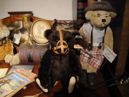 被罩住嘴的可憐泰迪熊
