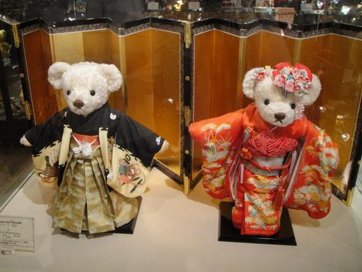 穿著和服的泰迪熊~