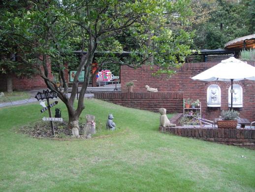 博物館內的公園