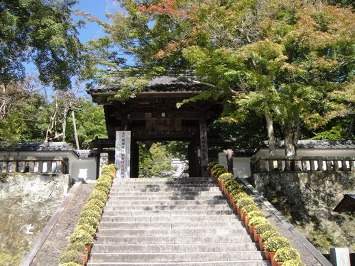 由弘法大師開基的修善寺