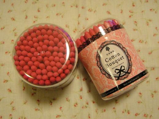 黑炭綿花棒算什麼,桃紅色的綿花棒才正啦!!