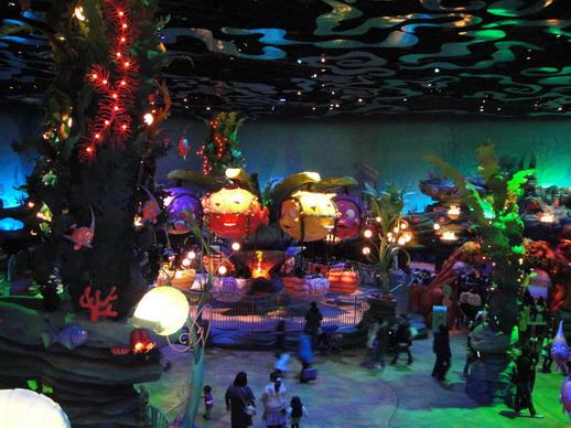 美人魚礁湖 川頓海王海底王國
