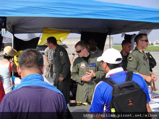2010/8/21 Pilots of F22