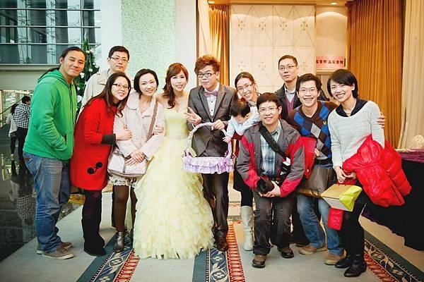 2014-01-04 乃心姨姨結婚