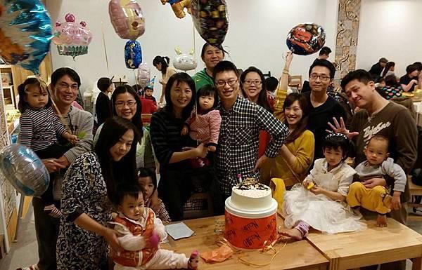 2014-01-04 佳恩姐姐1歲慶生會