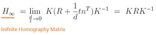 cv_matrix_infinite_homography_equation