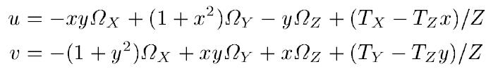 Instantaneous Velocity Field Model