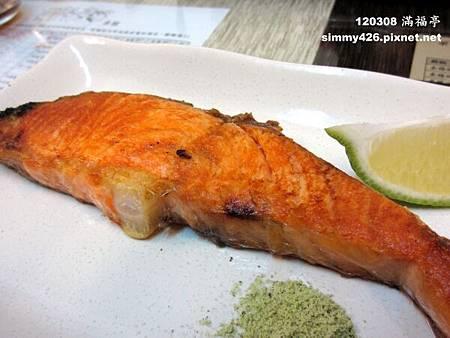 挪威烤鮭魚