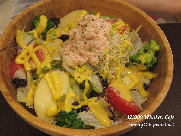 甜蔥鮭魚木碗沙拉(1)
