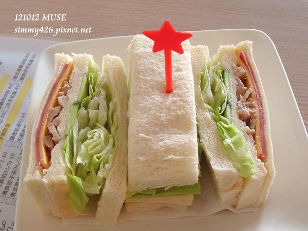 義式風味雞肉獨創三明治(1)