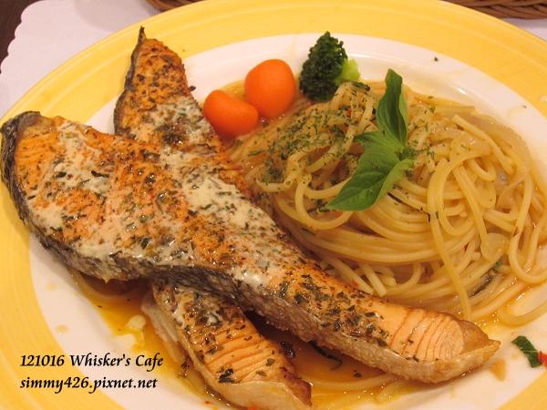 香煎鮭魚佐義大利麵(1)