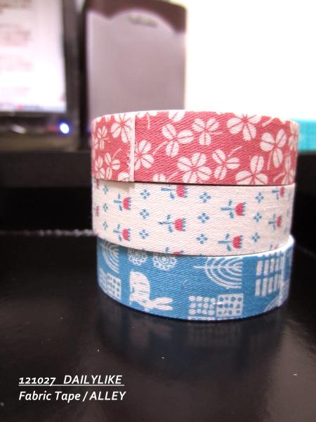 121027 DAILYLIKE Fabric Tape - ALLEY