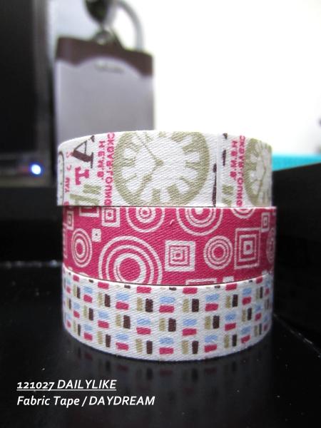121027 DAILYLIKE Fabric Tape - DAYDREAM