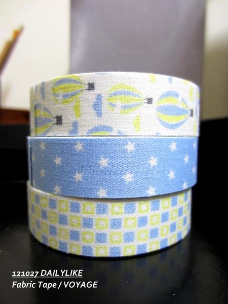 121027 DAILYLIKE Fabric Tape - VOYAGE