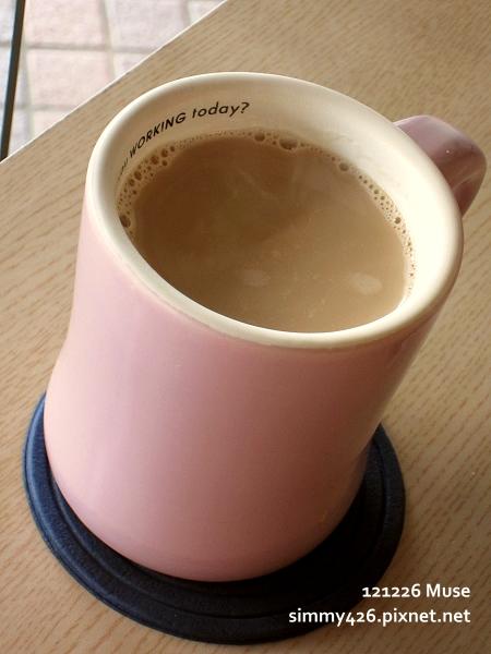 熱伯爵鮮奶茶