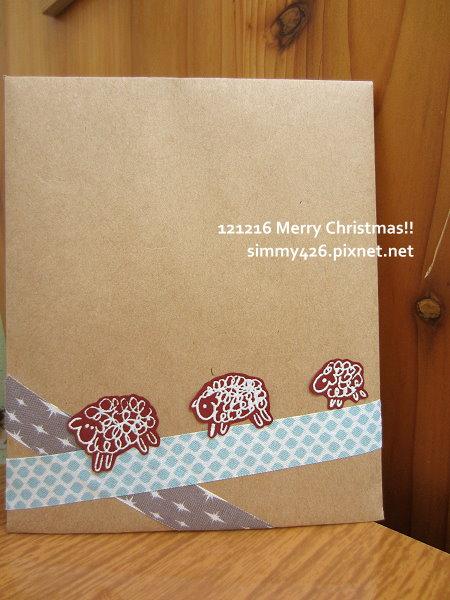 121216 貓兒耶誕卡特企 -- To 菀余(5)