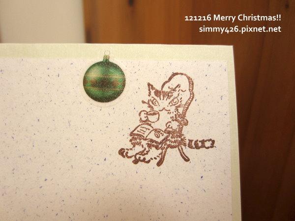 121216 貓兒耶誕卡特企 -- To 贏楓羊(6)