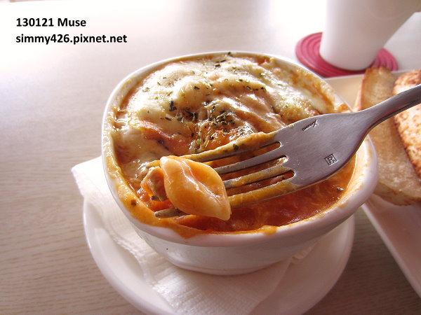 焗烤肉醬貝殼麵套餐(3)