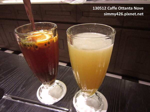 水果冰茶 & 蜂蜜檸檬汁