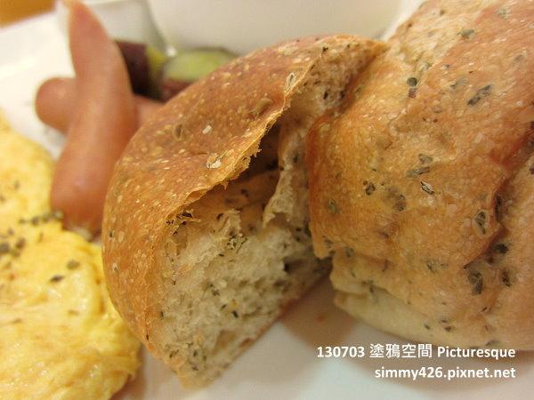 手作麵包朝食 + 羅勒麵包(4).jpg