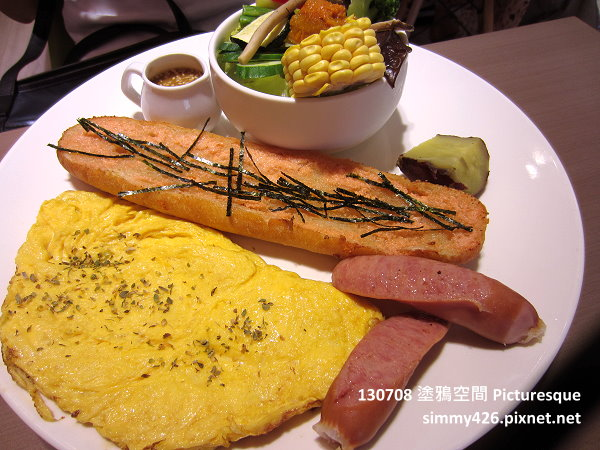 烘烤明太子法國麵包朝食(1)