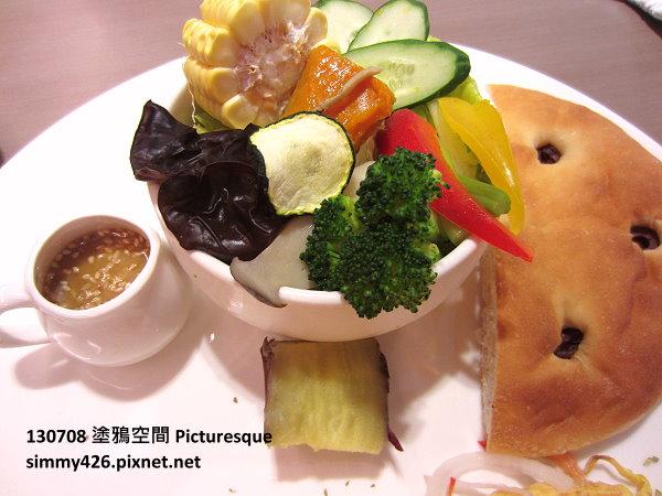 煙燻鮭魚歐姆蛋朝食(3)