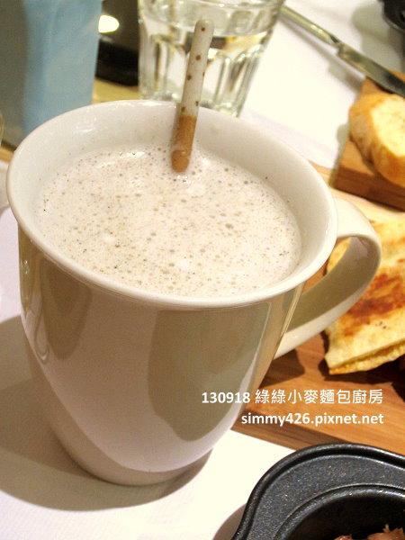 熱黑芝麻豆漿(1)
