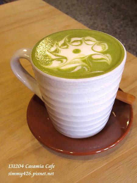 重抹茶牛奶咖啡(2)