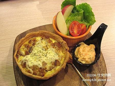 現烤法式 Quiche 鹹派套餐(1)