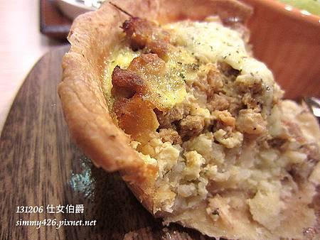 現烤法式 Quiche 鹹派套餐(3)
