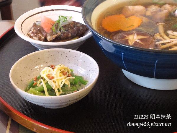 抹茶蕎麥湯麵(2)