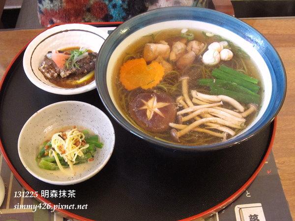 抹茶蕎麥湯麵(1)