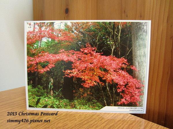 131225 Maureen 的耶誕紅葉明信片(1)
