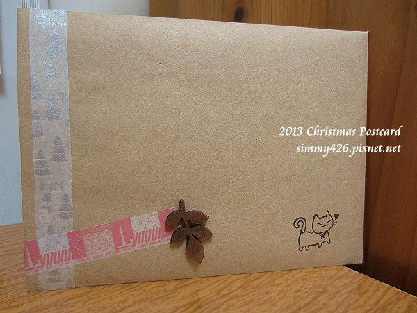 131225 羽泉的耶誕紅葉明信片‧信封(1)