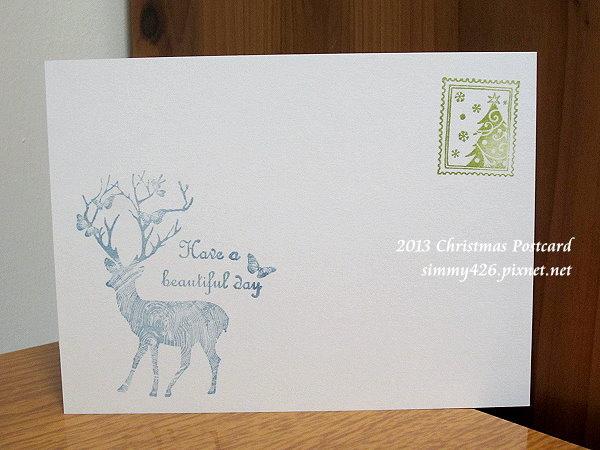 131225 秋雅的耶誕紅葉明信片(3)
